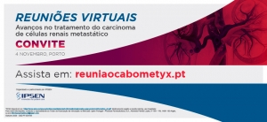 IPSEN promove reunião virtual sobre avanços no tratamento do cancro renal