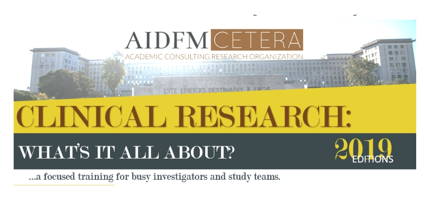 "A decorrer as inscrições para o curso ""Clinical Research: What's it all about?"""